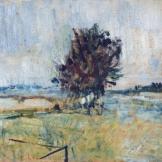 Petit paysage de rivière - 1900 - 23x28cm