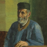 Paysan en blouse bleue - 1902 - 66x50cm
