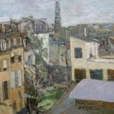 Paysage urbain (Montmartre) - vers 1903