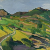 Paysage de Montagne dans la Drome - 1908 -Musée de Belfort)